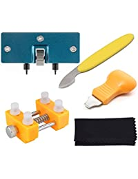 Watch Back Remover Tool - Adjustable Watch Back Case Opener Repair and Battery Replacement Tool Kit