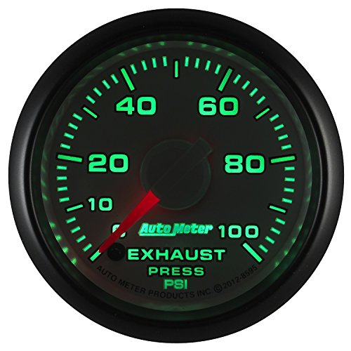 Auto Meter (8595) Dodge Match 2-1/16'' 0-100 PSI Full Sweep Electric Exhaust Pressure Gauge by Auto Meter (Image #1)
