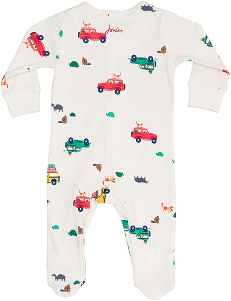 Cream Scout and About Joules Baby OAP Babygrow