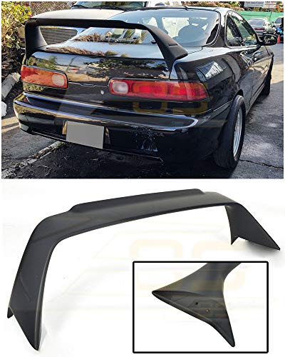Extreme Online Store for 1994-2001 Acura Integra DC2 | EOS Mugen Gen 1 Style ABS Plastic Primer Black Rear Trunk Lid Wing Spoiler