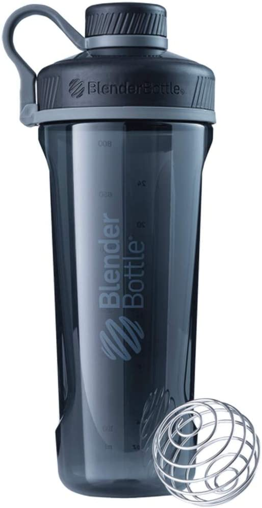 BlenderBottle Radian Tritan Shaker Bottle, Black, 32-Ounce
