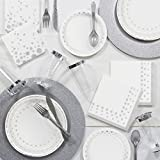Sparkle and Shine Silver Deluxe Party Supplies Kit