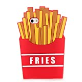 french fry phone case - 3D Soft Silicone Red French Fries Case Back Covers for Apple iPhone 6 / iPhone 6s Regular Size 4.7