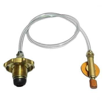 Formulaone Tanque de Gas de la Estufa de Gas casero estándar de Asia a los Accesorios del Tanque de la válvula del Adaptador del Repuesto del Tanque del ...