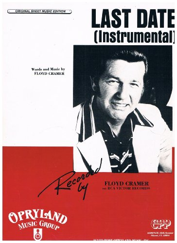 Last Date (Instrumental) - Piano Solo by Floyd Cramer Sheet Music (Last Date Sheet Music)