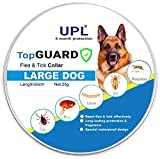 Dog Flea Treatment Collar - UPL Flea and Tick Prevention for Dogs, Flea and Tick collar for Large dogs, 24,8 inch, 6 MONTH PROTECTION, Charity