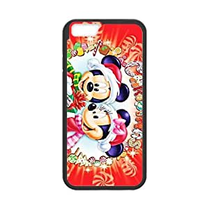Disney Mickey Mouse Minnie Mouse iPhone 6 Plus 5.5 Inch Cell Phone Case Black gife pp001_9312218