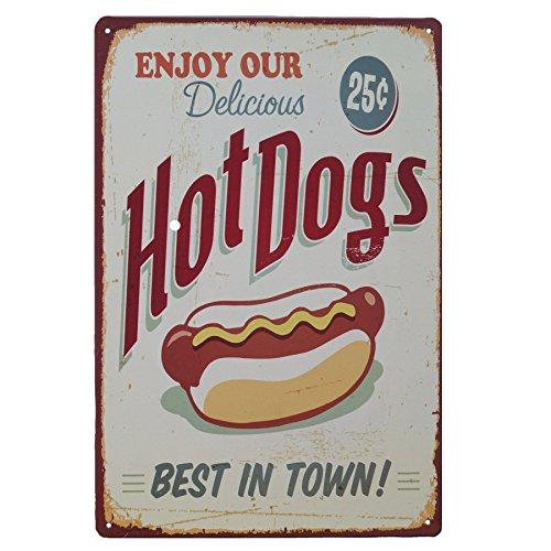 hot dog bar sign - 5