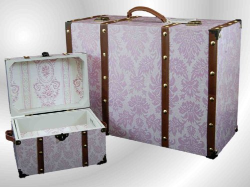 18 Quot Doll Clothes Storage Trunk Suitcase Doll Bed Bedding