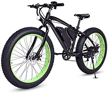 Goplus Bicicleta eléctrica 26 Pulgadas, Bicicleta de montaña ...