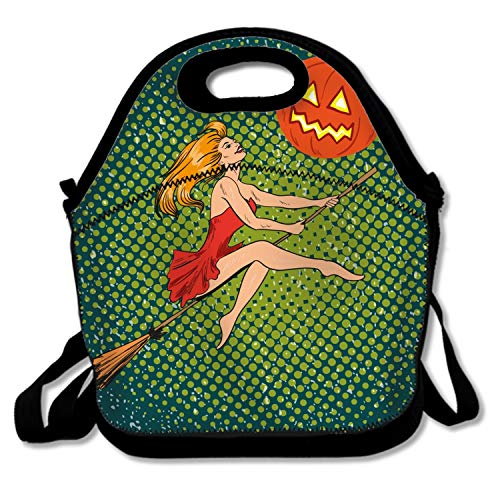 Classic Halloween Lunchbox Handbag - Easy to Carry