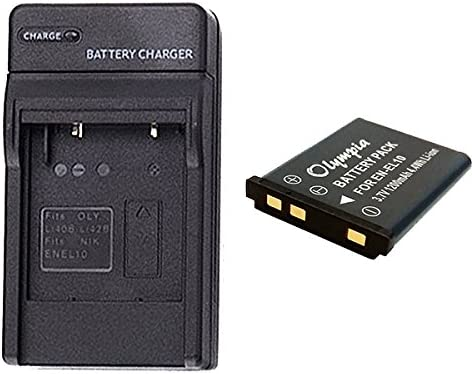 Casio Exilim EX-N50BE Battery /& Charger Set for Casio NP-80 1200mAh, 3.7V, Li-Ion NP-82 Digital Camera Battery /& Charger Kit