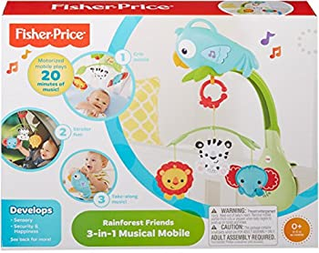 Fisher-price Rainforest Friends 3-in-1 Musical Mobile 5