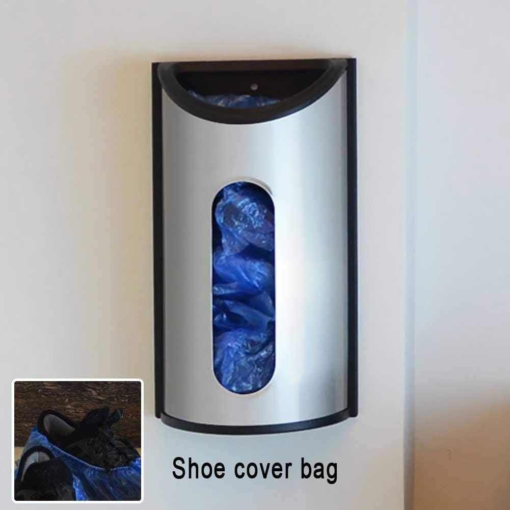 kingpo Plastikt/ütenhalter Wandhalterung Tragetasche Dispenser Recycling Lagerung Geb/ürstet Anti-Fingerprint Edelstahlbeutel Organizer