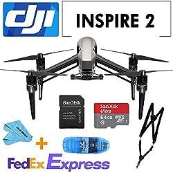 DJI INSPIRE 2 Drone Quadcopter,2-axis FPV camera,+ 64G SD Card