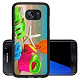 Liili Premium Samsung Galaxy S7 Edge Aluminum Backplate Bumper Snap Case toys for childrens sandboxes against the sea and the beach 28412835