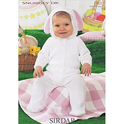 Amazon Bunny All In One In Sirdar Snuggly Dk 1463 Knitting