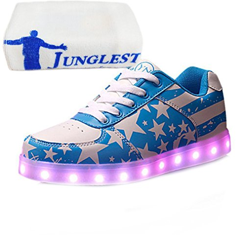 Led Shoes Blue Light small Present Stars 7 towel Colors For Up JUNGLEST a7wHxR