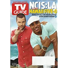 TV Guide Magazine, April 30-May 6, 2012-NCIS:LA & Hawaii Five-O. Chris O'Donnell and LL Cool J on cover.