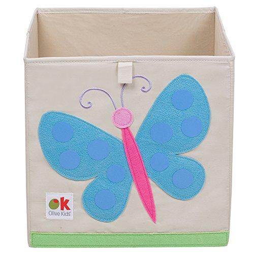 Wildkine 13 Inch Storage Cube, Butterflies