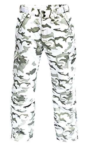 Arctix Classic Series Ski Snowboard Cargo Pant Men's Size Large Snow (Mens Camouflage)