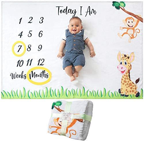 Odoxia Baby Monthly Milestone