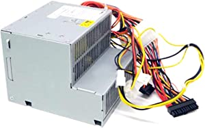 Genuine Dell 280W Replacement Power Supply Unit Power Brick For Dell Optiplex 960, 980, 760, 780, 790 Desktop Systems, R (Renewed)