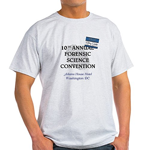 (CafePress Forensic Science Convention T-Shirt 100% Cotton T-Shirt Ash)
