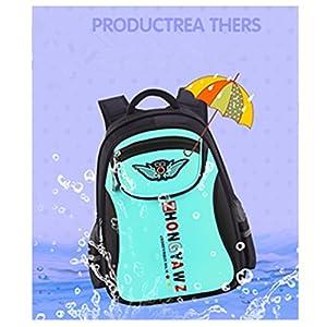 School Bag,Coofit Backpacks for Girls School Bags Casual Daypacks Travel Bag Super Modern Unisex Nylon School Bag Waterproof …