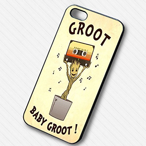 Cute Baby Groot Awesome Mix pour Coque Iphone 6 et Coque Iphone 6s Case N3U8NS