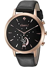 Women's KST23100 Grand Metro Black and Rose Gold Hybrid Smartwatch