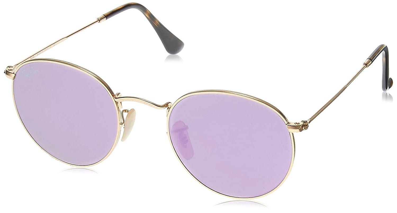 RAY-BAN RB 3447n Gafas de sol, Shiny Gold, 50 para Hombre