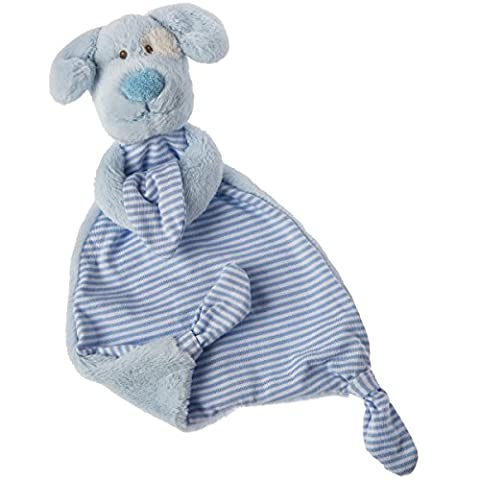 Mary Meyer Marshmallow Zoo Blue Pup Lovey Soft Toy - Blue Puppy Plush