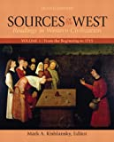 Sources of the West, Volume 1: From the Beginning to 1715 (8th Edition)
