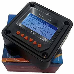 Controlador de medidor remoto anancooler MT50 para controlador de carga solar Epever MPPT