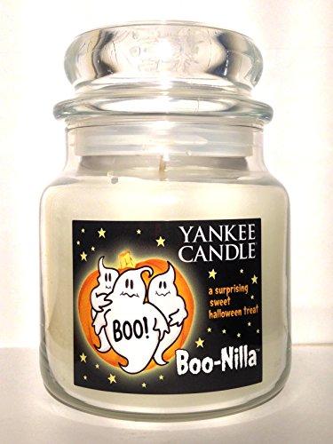 Yankee Candle Boo-Nilla Boonilla Vanilla Marshmallow Scent Halloween Candle ()