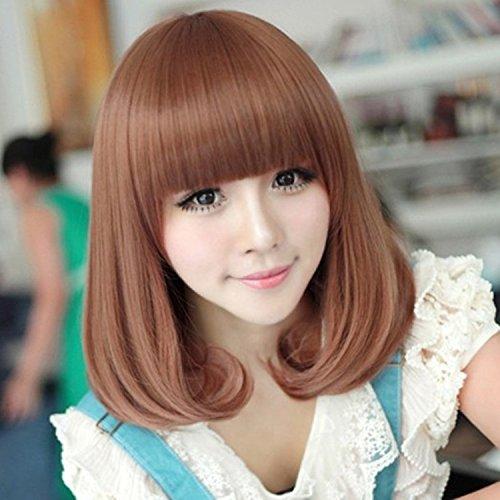 Halloween Costumes Jackson Ms (Premium wigs liap Ms PEAR head Liu Qi wig wigs short curly hair set in Europe and America)