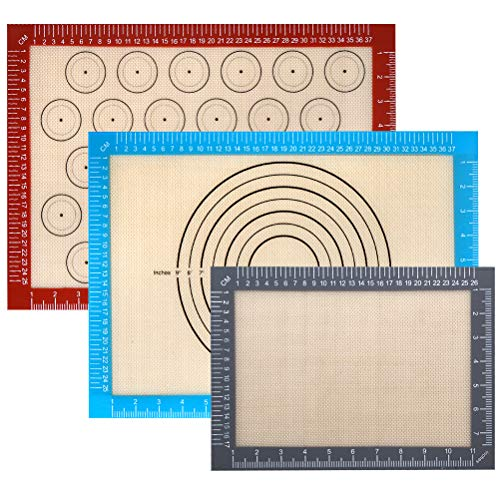 Silicone Baking Mat Measurements Macaroon product image