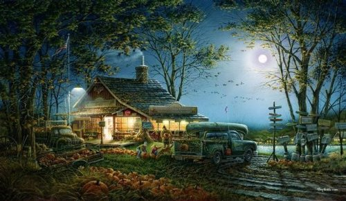Terry Redlin Autumn Traditions Open Edition Elite Print (24