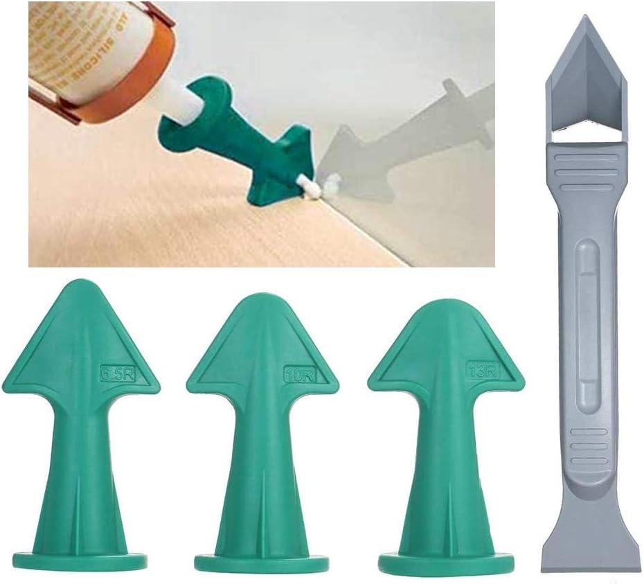 Wangyan 123 Silikon-Dichtungsfinisher-Werkzeug D/üsenspatel F/üllspreizer-Werkzeug leicht zu reinigen und mit Langer Lebensdauer wiederverwendbar