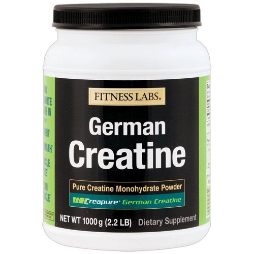 Fitness Labs Creapure German Creatine Powder, 200 Servings, 1000 Grams by FITNESS LABS