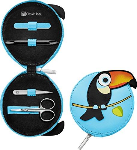 ZWILLING CLASSIC INOX Reißverschluss-Etui, Kinder Manicure Babynagelschere