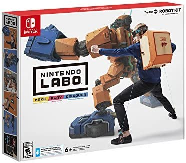 Nintendo Labo: Robot Kit for Nintendo Switch [USA]: Amazon.es ...
