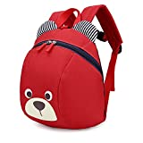 XYTMY Children Small Toddler Anti-lost Walking Safety Leash Backpack Bear for Under 5 Years Old Kids.