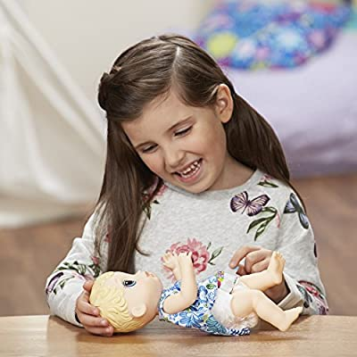 Baby Alive Lil' Sips Blonde Baby: Toys & Games
