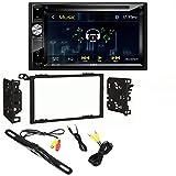 "Jensen VX3026 6.2"" High Resolution Touchscreen w/DVD Player & Bluetooth Control 95-2009 Kit for 95-08 GM/Honda/Isuzu/Suzuki Night Vision Rear View Backup Color Camera"