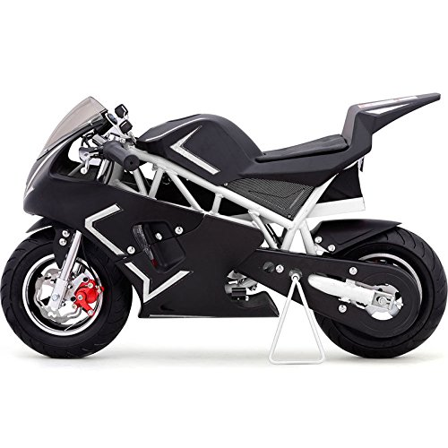 Go-Bowen-36V-Electric-Pocket-Bike-BlackWhite