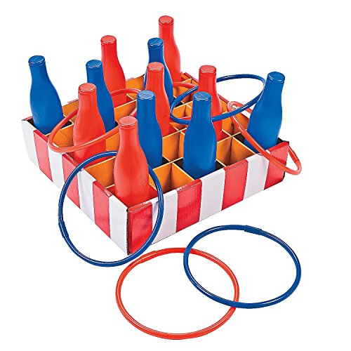 Carnival Bottle Ring Toss Game by Fun Express