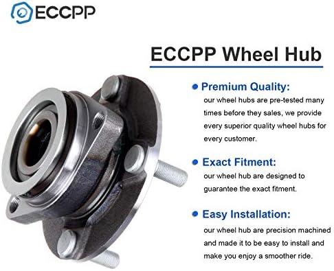 ECCPP Front 4 Lugs Wheel Bearing and Hub Assembly for 2007-2014 Tiida 2007-2011 Versa Wheel Hub Bearings 513308