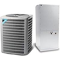 10 Ton 11 EER Multi Speed Daikin Commercial Central Heat Pump Split System - Multiposition